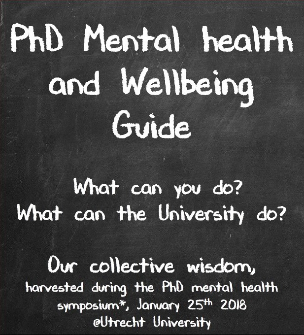 PhD Wellbeing guide